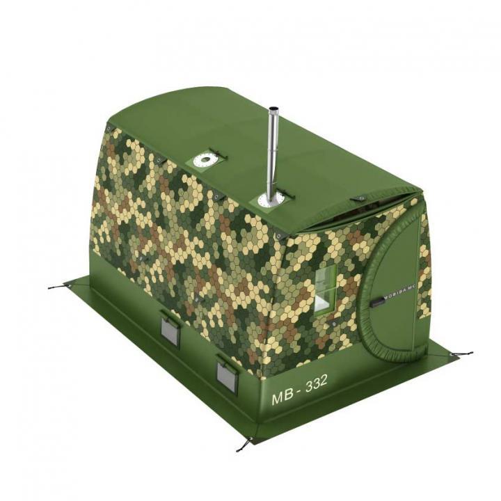 Vintertelt Badstue og oppvarmet telt Mobiba MB-332 kjøp i Norge i butikk