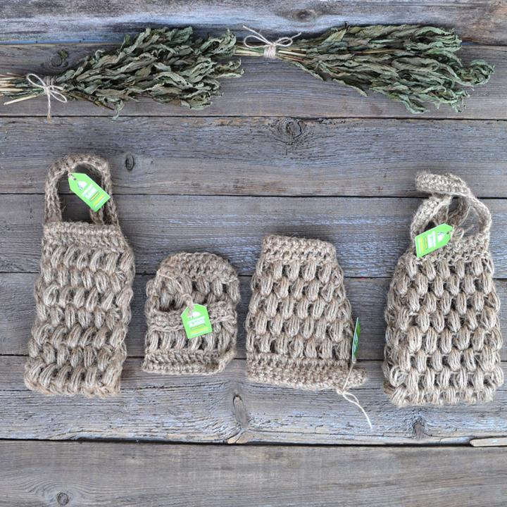 MobiNatura vottesvamp i økologisk lin kjøp i Norge i butikk